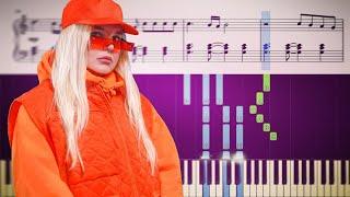 Tones and I - Dance Monkey - Piano Tutorial