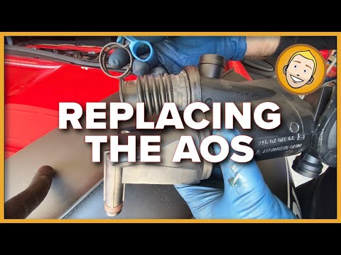 How to REPLACE/INSTALL AIR OIL SEPARATOR (AOS) | Porsche Boxster 986 987 (Project 9)