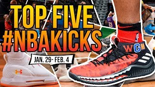 🔥 Top 5 Sneakers Worn in the NBA (Jan. 29 - Feb. 4) 🔥