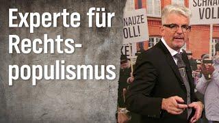 Experte für Rechtspopulismus Heinz Strunk