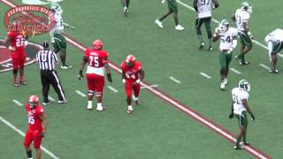 Jacksonville State Football vs Mississippi Valley State - Game Highlights (10/3/15)