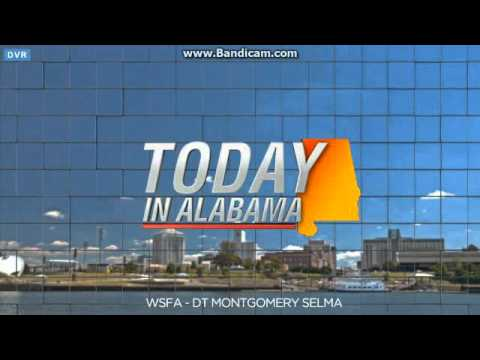 WSFA: WSFA 12 News Today in Alabama Open--01/12/16