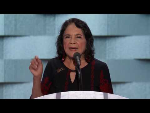 Dolores Huerta at DNC 2016