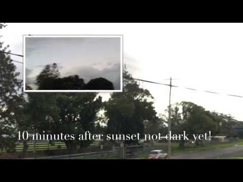 Jeranism Claims 10 Minute Twilight In Southern Hemisphere (Part2)