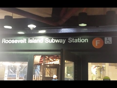 MTA New York City Subway: A Tour Of The Roosevelt Island Station