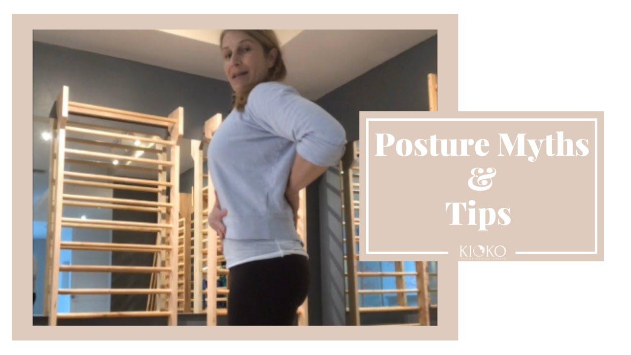 Posture Myths & Tips