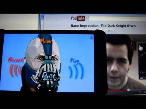 Response to: Bane Impression: The Dark Knight Rises using BTVC voice changer app for Android