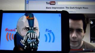 Bane Voice Changer BTVC Batman