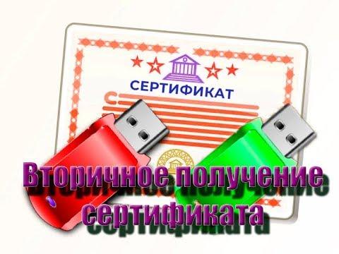 ФЗС / Плановая смена или вторичное получение сертификата без прихода в казначейство