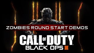 Black Ops 3 Official Soundtrack: Zombies Round Start Demos