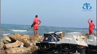 الحماية المدنية: تسخير امكانيات إضافية بالشواطئ غير المحروسة