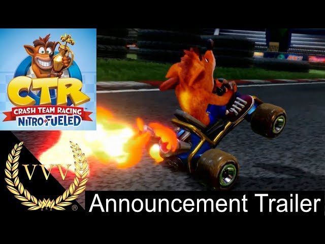 Crash Team Racing Nitro Fueled - Announcement Trailer