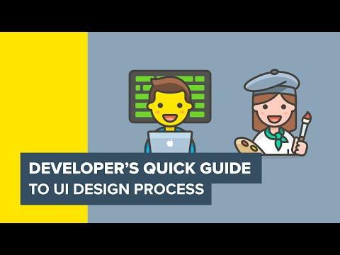 Developer's quick guide to UI Design Process