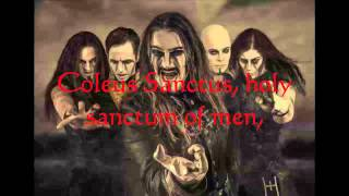 Powerwolf - Coleus Sanctus Lyrics