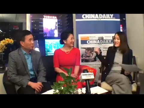 Times Square New Year's Eve Celebration with China Daily USA