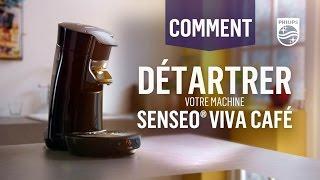 Comment détartrer votre machine Senseo® Viva café