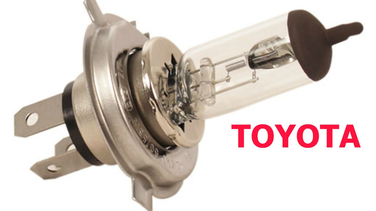 Headlight Bulbs Replace Install Easy Change On Toyota