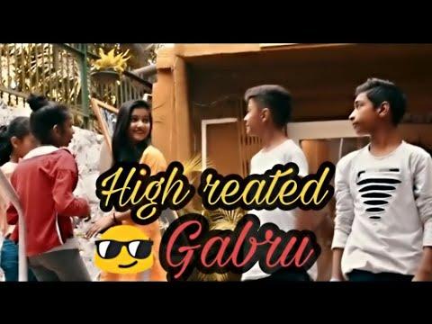 HIGH REATED GUBRU || Guru Randhawa || Rahul Aryan choreography || Music World