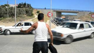 A Melilla, avec les contrebandiers au poste-frontière de Farhana