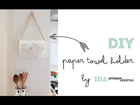 DIY Video Tutorial: Paper Towel Holder   YouTube