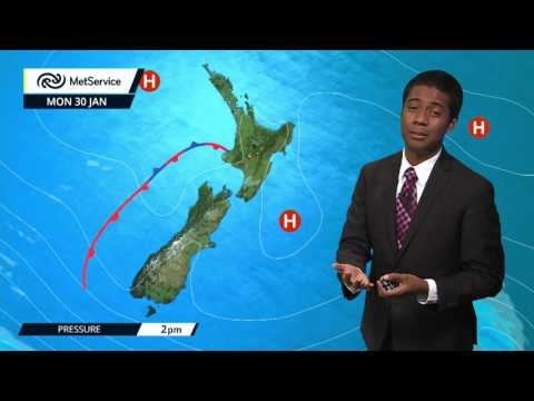 Severe northwest gales for eastern parts of the South Island