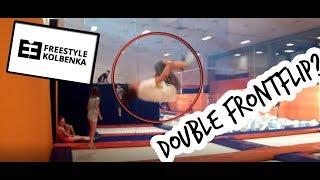 FREESTYLE KOLBENKA V OSTRAVĚ! Double FrontFlip? [VLOG]