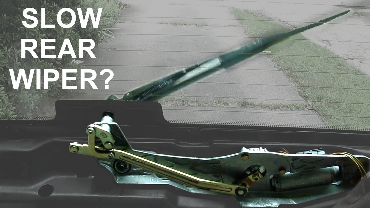 rear window wiper troubleshooting