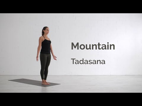 Mountain Pose (Tadasana) Tutorial