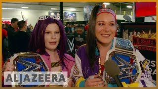 🇺🇸 WWE heads to New York: Fans flock to WrestleMania 35 | Al Jazeera English