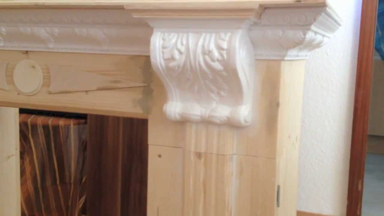 homemade diy decorative fireplace part 3 4 youtube