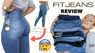 TESTING THE BEST FITTING & MOST FLATTERING JEANS?!? ARE THEY WORTH IT? | FITJEANS HAUL & REVIEW