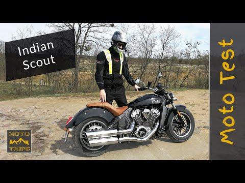 Indian Scout test motocykla, sprawdź dlaczego zachwycił mnie ten motocykl.   #1