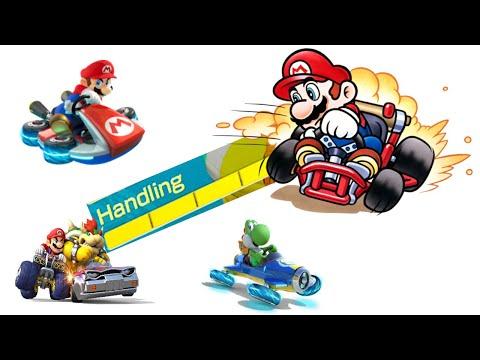 Mario Kart: What does Handling do? |