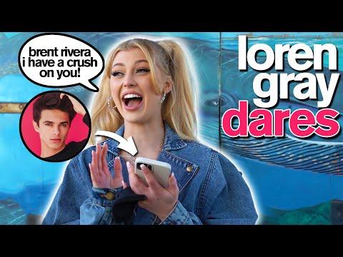 LOREN GRAY SAYS YES TO EVERYTHING *TikTok Pranks, Dares & Photo Challenges* - Jordan Matter