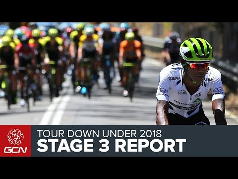 Tour Down Under 2018 | Stage 3 Race Report
