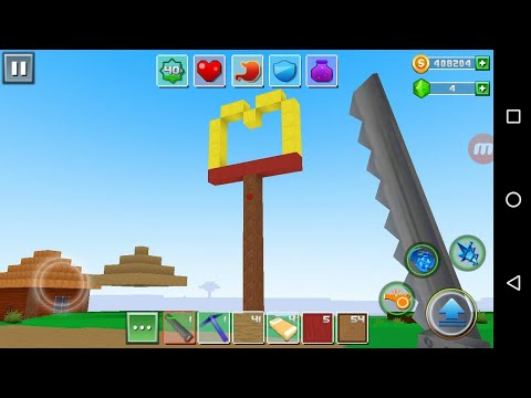 Exploration Lite Craft 'CanadaDroid' Android Gameplay #14 | Learn How To Make MacDonald's Sign  |