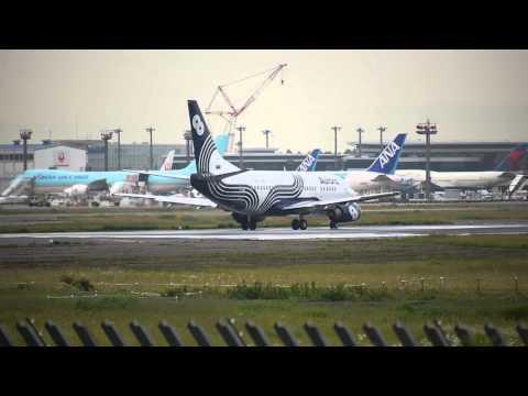 成田16R オーロラ離陸