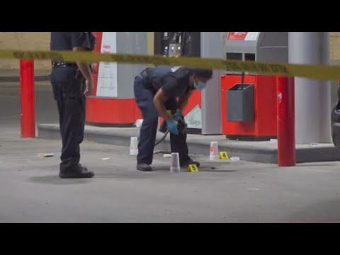 1 man fatally shot, another critically injured in apparent carjacking at N Houston gas station, ...