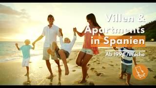 Ferienhäuser & Ferienwohnungen in Spanien | Ferienwohnungen-Spanien.de