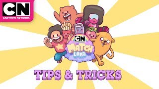 Cartoon Network Match Land | Tips and Tricks! | Cartoon Network