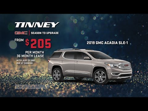 2019 GMC Acadia - Holiday December Offers and Incentives Sales Event