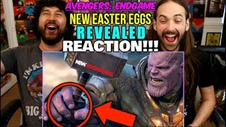 AVENGERS ENDGAME | Thanos Battle - NEW EASTER EGGS REVEALED (New Rockstars) - REACTION!!!