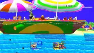 Grand Finals 1: Keitaro (Falco/Snake/MK) vs Jbandrew (Luigi)