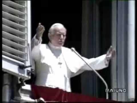 L'Angelus più carismatico di Giovanni Paolo II