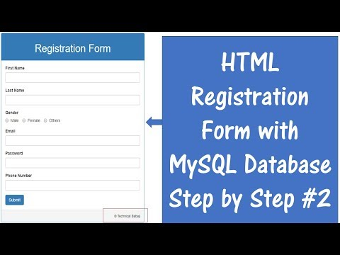 How To Connect HTML Form With MySQL Database Using PHP