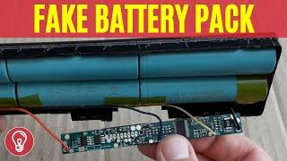 Fake Chinese Battery Pack Teardown