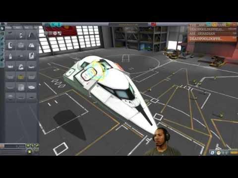 Kerbal Space Program (PC), Building Star-Lord's Ship Milano II