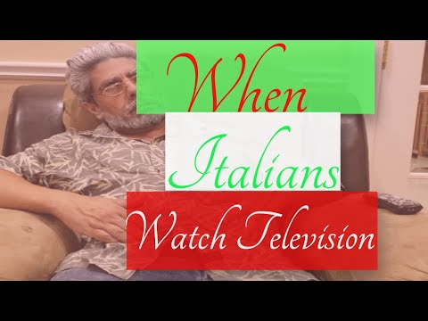 When Italians watch television