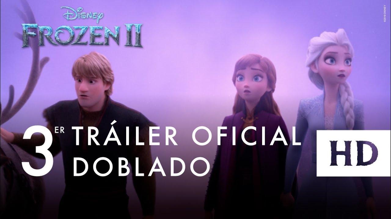 Frozen 2, de Disney – Tráiler oficial #2 (doblado)