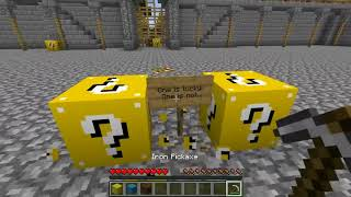 PopularMMOs - Minecraft  FROZEN HUNGER GAMES   Lucky Block Mod   Modded Mini Game